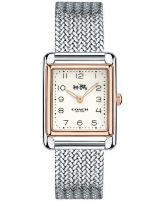 Coach Women's Page Stainless Steel Bracelet Watch 24x30mm 14502664