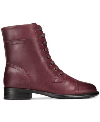 Easy Spirit Janis Lace-Up Booties