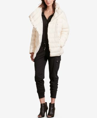 Lauren Ralph Lauren Funnel-Neck Down Coat