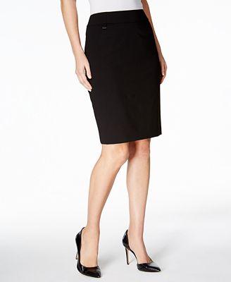 calvin klein pencil skirt wear to work macy s