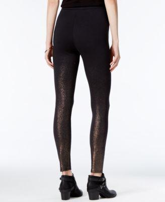 chelsea sky Metallic Pull-On Pants