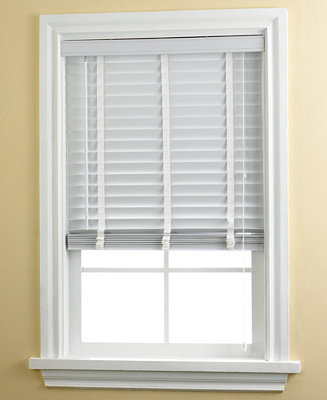 Home Basics 2 Faux Wood Blinds 29 32 X 72 Window Treatments For The Home Macy 39 S