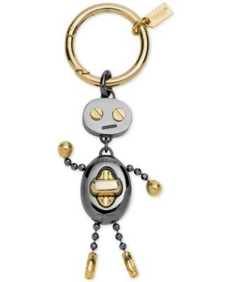 COACH Boxed Robot Key Ring