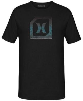 Hurley Mens Graphic-Print T-Shirt