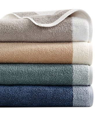 hotel collection towels hotel collection reversible bath towel collection 100 31429