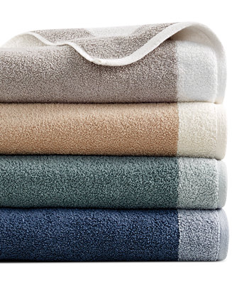 Hotel Collection Reversible Bath Towel Collection 100