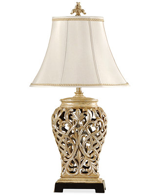 Stylecraft Open Lace Scroll Table Lamp Lighting Amp Lamps