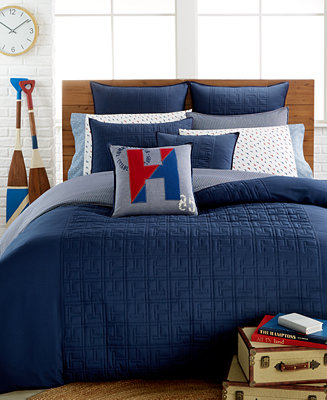 Tommy Hilfiger Academy Navy Collection Bedding
