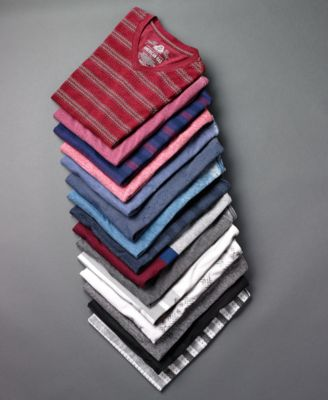 American Rag Mens Day Camp Striped T-S..