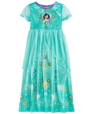 Disney 39 s princess jasmine toddler girls 39 nightgown pajamas kids baby macy 39 s - Robe jasmine disney ...