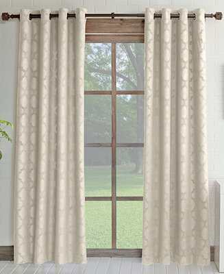 Macy's Curtains For Living Room : Miller Curtains Estate Room Darkening & Insulating Grommet ...