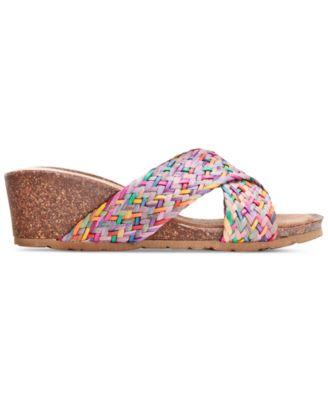 Bella Vita Pavia Wedge Sandals