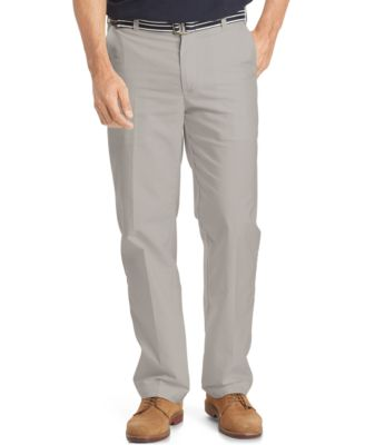 IZOD Mens Belted Oxford Pants