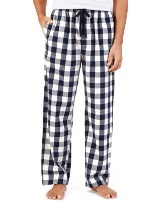 Nautica Mens Woven Gingham Pajama Pants
