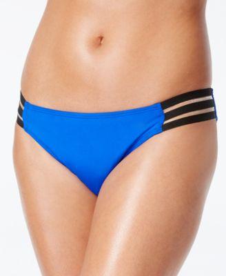 Kenneth Cole Strappy-Tab Bikini Bottoms