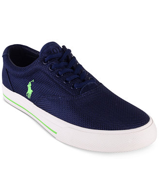 polo ralph s vaughn dotted mesh sneakers all