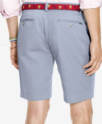 Polo Ralph Lauren Mens Classic-Fit Flat-Front Chino Shorts