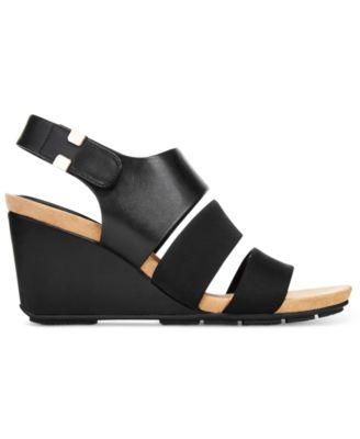 Alfani Womens Elleana Wedge Sandals