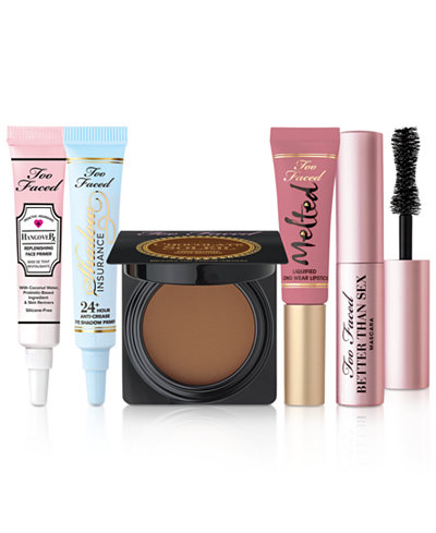 Macy Too Faced Totally Obsessed Set
