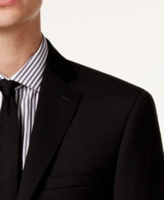 Calvin Klein Mens Extra-Slim Fit Black..