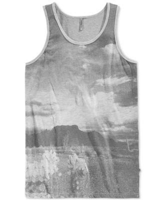 Ambig Mens Graphic-Print Tank Top