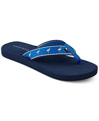 tommy hilfiger cheese flip flops sandals shoes macy 39 s. Black Bedroom Furniture Sets. Home Design Ideas