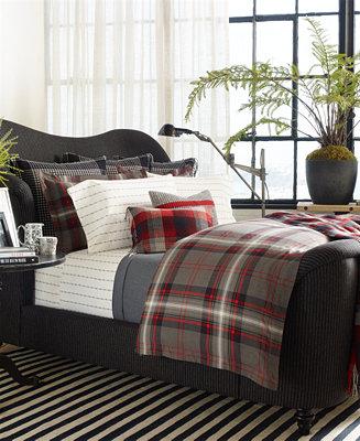 Ralph Lauren West Village Plaid Comforters Comforters