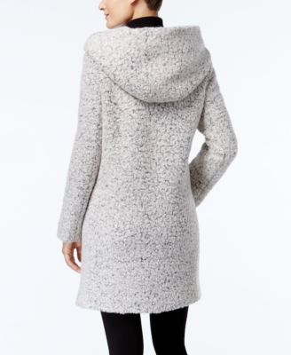Cole Haan Asymmetrical Shawl-Collar Wa..