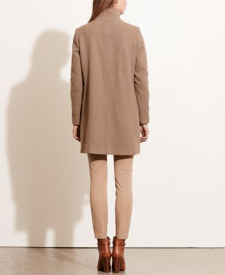 Lauren Ralph Lauren A-Line Wool Coat