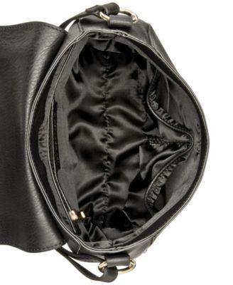 INC International Concepts Willow Saddle Tassel Bag