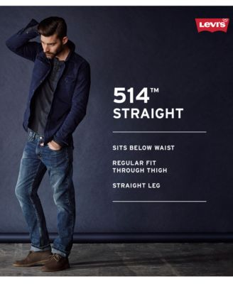 Levis® Mens 514 Authentic Straight Le..