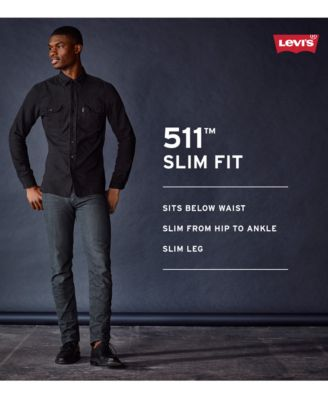 Levis® 511™ Slim Fit Performance Stretch Jeans