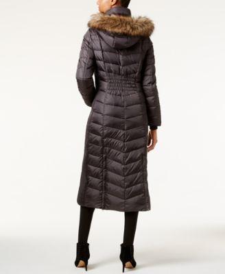 MICHAEL Michael Kors Faux-Fur-Trim Dow..