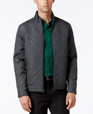 Alfani Collection Mens Lightweight Quilted Jacket