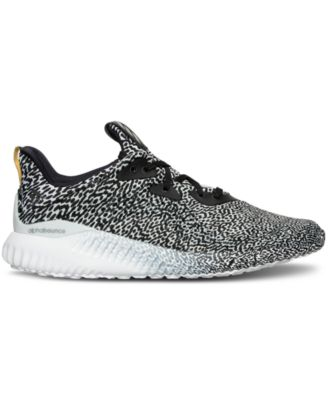 adidas Womens Alpha Bounce Running Sneakers from Finish Line