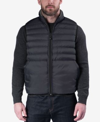 Hawke & Co. Outfitters Mens Reversible Packable Vest