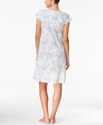 Charter Club Crochet-Trimmed Nightgown