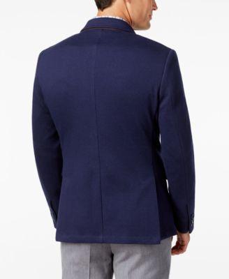 Tasso Elba Mens Knit Sport Coat Classi..