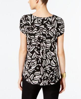 Alfani Petite Printed T-Shirt