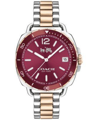 COACH Women's Tatum Two-Tone Stainless Steel Bracelet Watch 34mm 14502640
