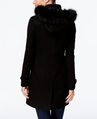 Ivanka Trump Faux-Fur-Trim Buckled Wal..
