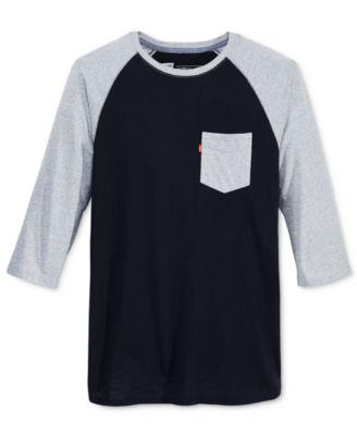 Levis® Mens Hanley Raglan-Sleeve T-Shirt