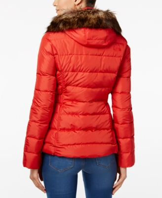 The North Face Gotham Faux-Fur-Trim Ho..