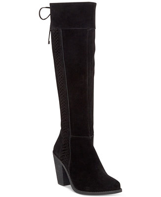 Jessica Simpson Ciarah Braided Detail Tall Boots Boots