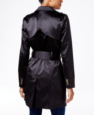 GUESS Raffie Satin Trench Coat