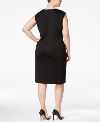 Calvin Klein Plus Size Snake-Print She..