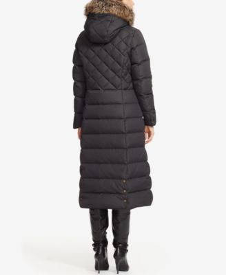 Lauren Ralph Lauren Faux-Fur-Trim Quilted Down Parka