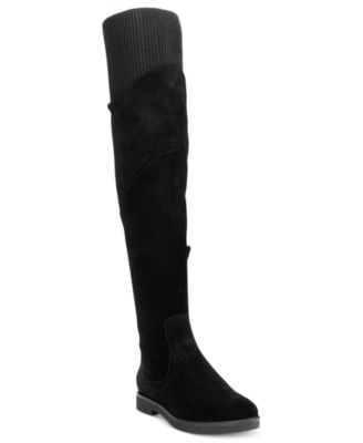Nine West Alaine Knit Over-The-Knee Boots