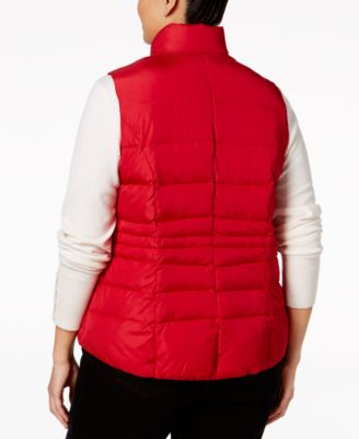 Charter Club Plus Size Quilted Puffer ..