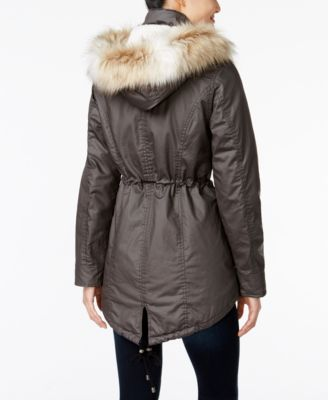 American Rag Coated Parka Coat